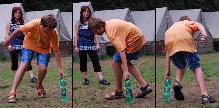 Photo: Takto se Martin popral s uměním Opilce.