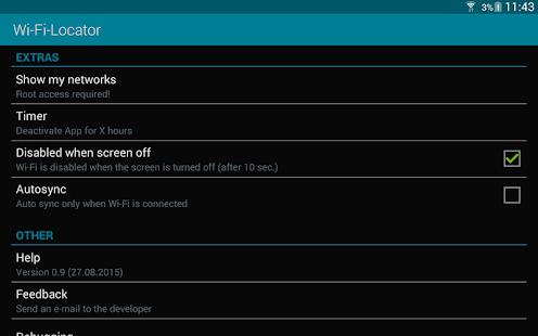 Wi-Fi-Locator- screenshot thumbnail