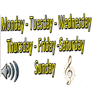 Week days in English