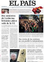 Photo: Dos ministros del Gobierno británico piden salir de la UE, el 15-M vuelve a la calle tras marcar la agenda política y dos tercios de los catalanes no ven posible la independencia, en nuestra portada del lunes 13 de mayo http://srv00.epimg.net/pdf/elpais/1aPagina/2013/05/ep-20130513.pdf