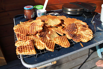 Photo: And eat lots of waffles (well, not only in summer....)
