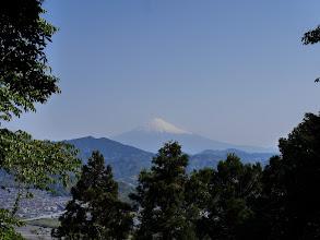 梵天山の東から富士山を望む