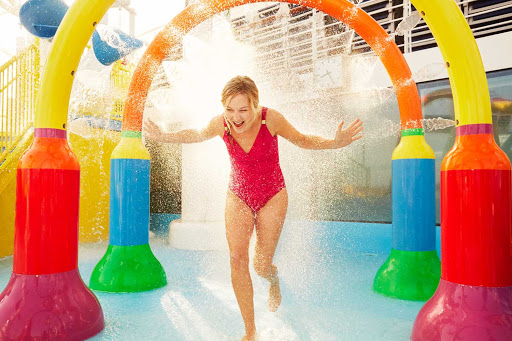 Splish-splash the day away at WaterWorks, Carnival's onboard waterpark.