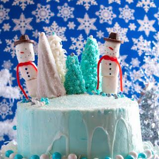 Winter Wonderland Cake.