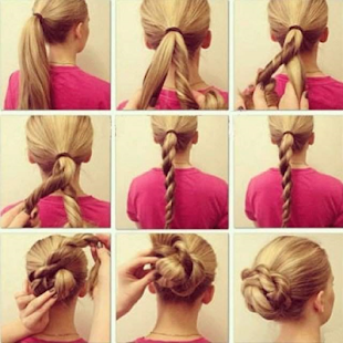 Simple Hairstyle Tutorial - náhled