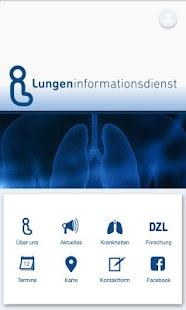 Lungeninformationsdienst Screenshot