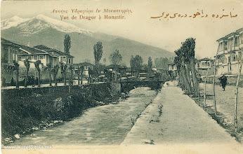 Photo: 15. Реката Драгор со поглед кон Црн Мост и Пелистер, од јули 1906 година.