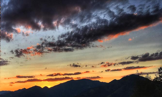 Dopo la tempesta... tramonto bergamasco!!! di tizicarra