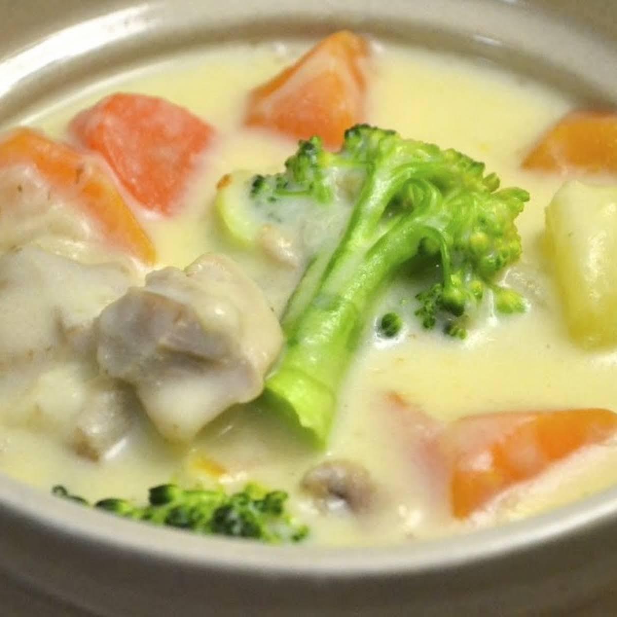 Japanese Cream Stew