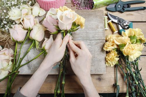 Cvjećare Budva, Nikšić, Kotor - Kako da sami napravite cvijetni aranžman