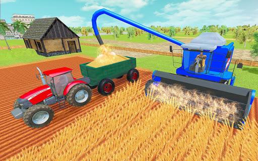 Modern Tractor Farming Simulator: Offline Games screenshots 13