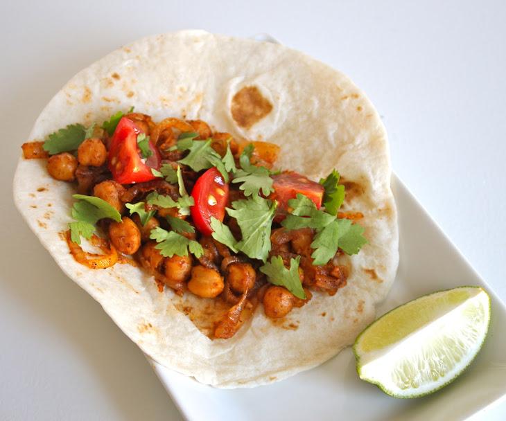 Chickpea Tacos Recipe