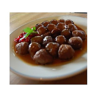 Jelly Glazed Meatballs