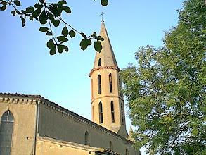 Photo: Le clocher
