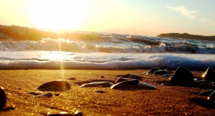 Tramonto d'oro di mary