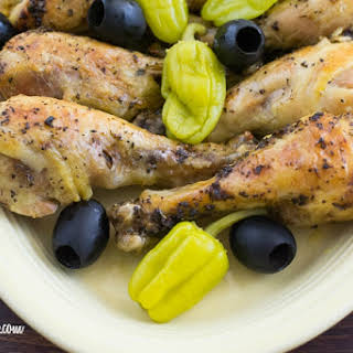 Crock Pot Greek Style Chicken.