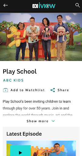 ABC iview 4.4.0 screenshots 5