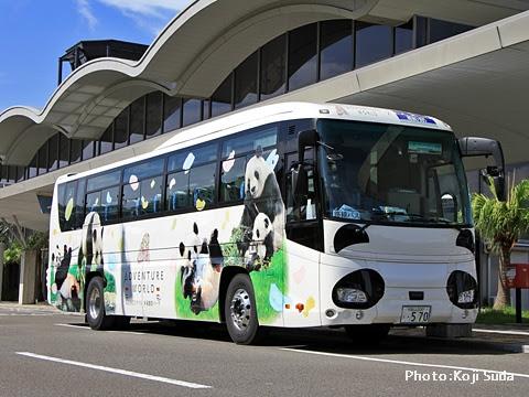明光バス「パンダ白浜エクスプレス181号」 外観_02