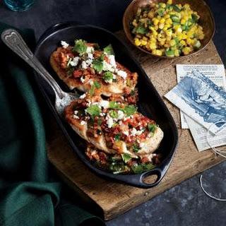 Chicken with Chorizo and Tomato Salsa