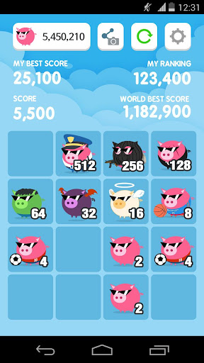 피기2048 - Piggy2048