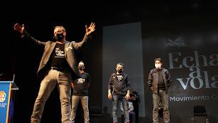 Asamblea presentación del movimiento cultural Echa a Volar.