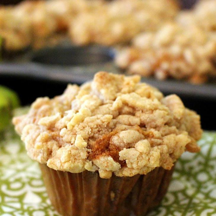 Coffee Shop Banana Streusel Muffins Recipe