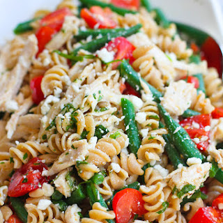 Chicken Pasta Salad Feta Cheese Recipes
