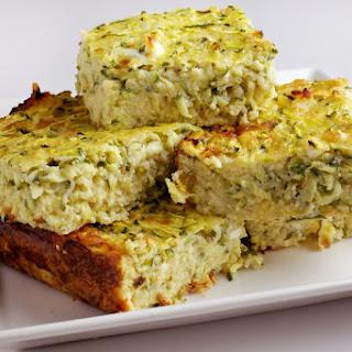 Zucchini Quajado for Passover.