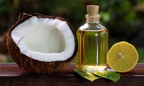 công thức trộn kem dưỡng trắng da mặt với dầu dừa