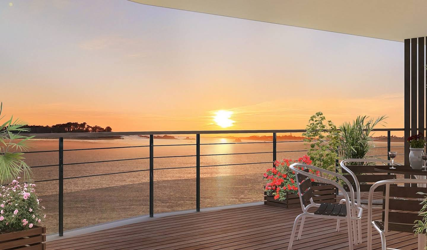 Apartment with terrace Roscoff
