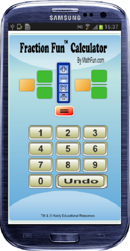 Fraction Fun Quick Calculator