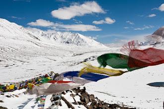 Photo: Baralacha La (4890 meters above sea level), Manali-Leh Highway, Himachal Pradesh, Indian Himalayas