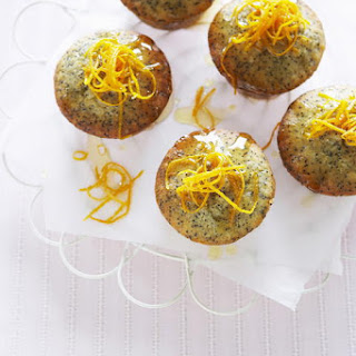 Mini Orange and Poppy Seed Cakes