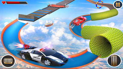 Police Car Chase GT Racing Stunt: Ramp Car Games android2mod screenshots 7