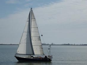 Photo: Pretty sailboat