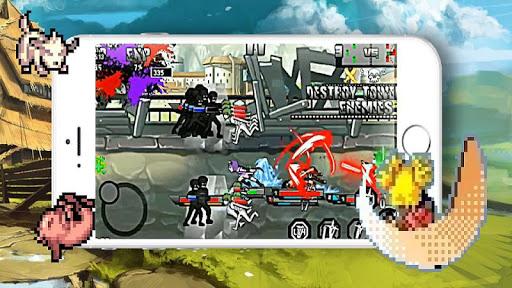 Télécharger Moba Kage: War of Heroes APK MOD (Astuce) screenshots 1