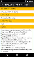 Screenshot of Ruta Alfonso XI