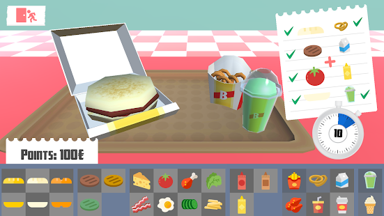 Burger Kids 3D- screenshot thumbnail
