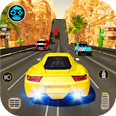Racing in Highway Car 2018: City Traffic Top Racer
