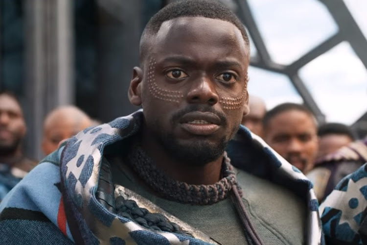 A screen grab of Daniel Kaluuya as W'Kabi in a scene from 'Black Panther'.