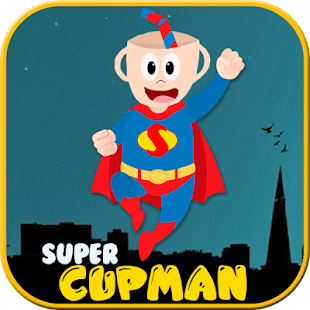 Super CupMan hero City - náhled