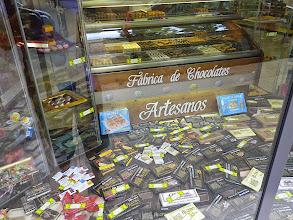 Photo: Au 18 et 19e siècle Astorga est le centre de l'industrie chocolatière espagnole