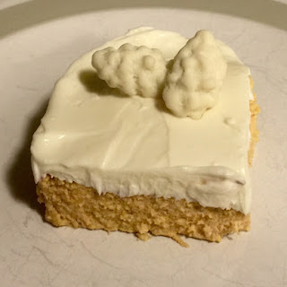 High protein Low Fat Pumpkin Cheesecake.