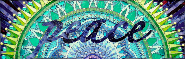 Peace Mandala by Brenda Pokorny