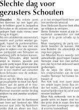 Photo: Slechte dag voor gezusters Schouten 9 januari 2009