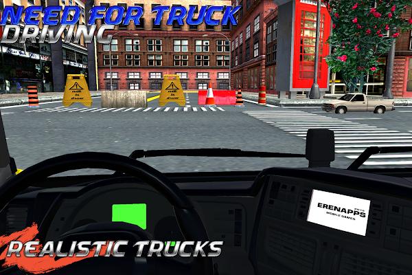 NEED FOR TRUCK DRIVER - screenshot