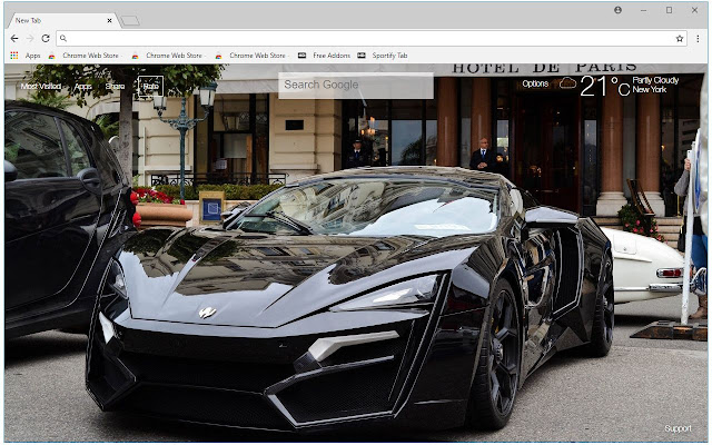 Lykan Hypersport HD Wallpapers New Tab Themes