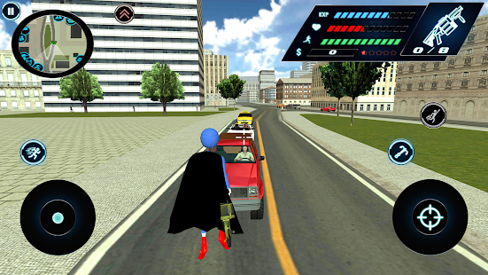 Download Flying Speed Stickman Rope hero Gangaster Crime For PC Windows and Mac apk screenshot 3