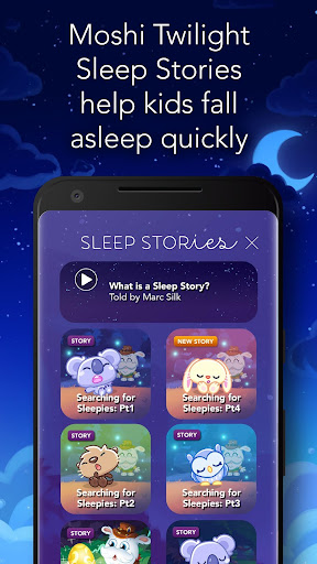 Moshi Twilight Sleep Stories: Kids Bedtime Stories APK (2 3