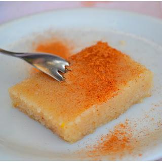 Greek Semolina Pudding